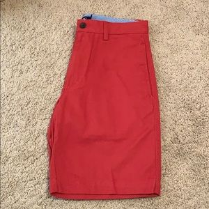 Men's red Chap's shorts